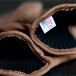 A shot of the merino wool-lined kangaroo leather gloves. (Photo: Wood and Metal)