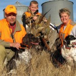 Heck of a trip. Dan, Connor, Lynette, and Gus and Lily. (Dan Craven photo)