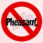 Do Congress, Tea Party Hate Pheasants?