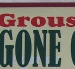 No Grouse Comeback in SW Penn?